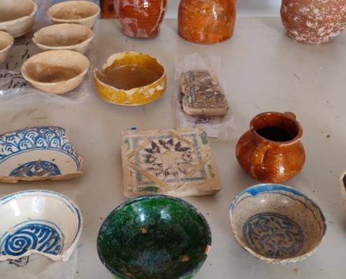 Materiales de s XVI-XVII preseleccionados