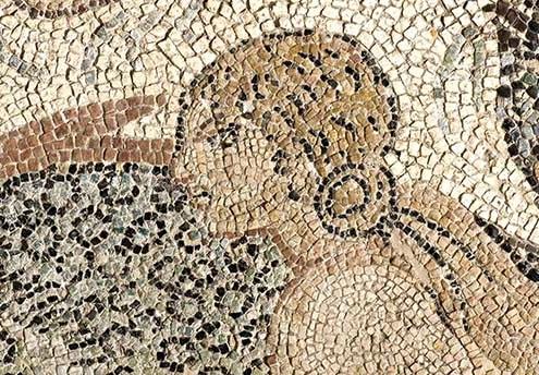 Nereida mosaico museo de Écija