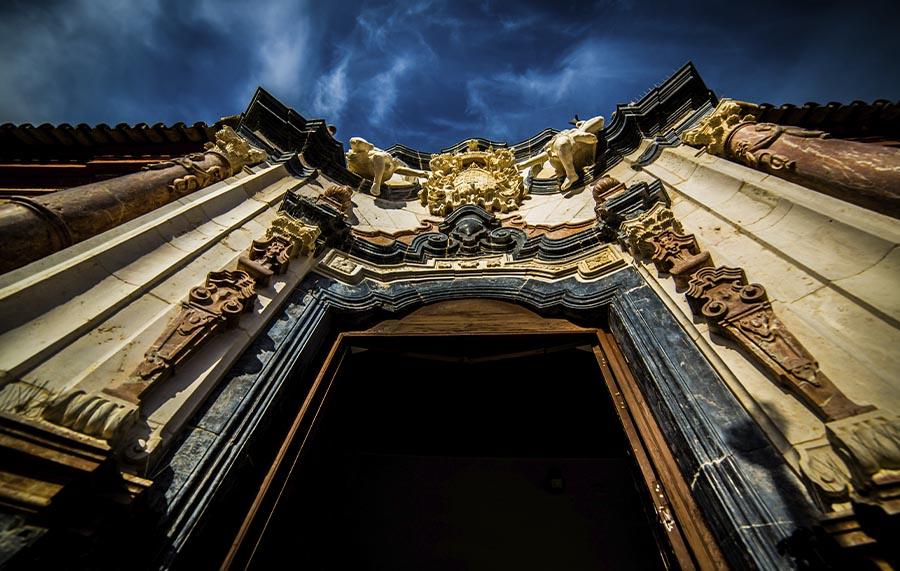 Puerta Palacio Benamejí