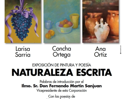 Exposición de pintura y poesía Naturaleza Escrita
